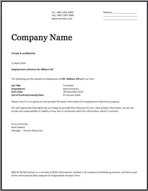 Sample Certificate Of Employment 11 Certificate Employment Samples Word Excel Samples