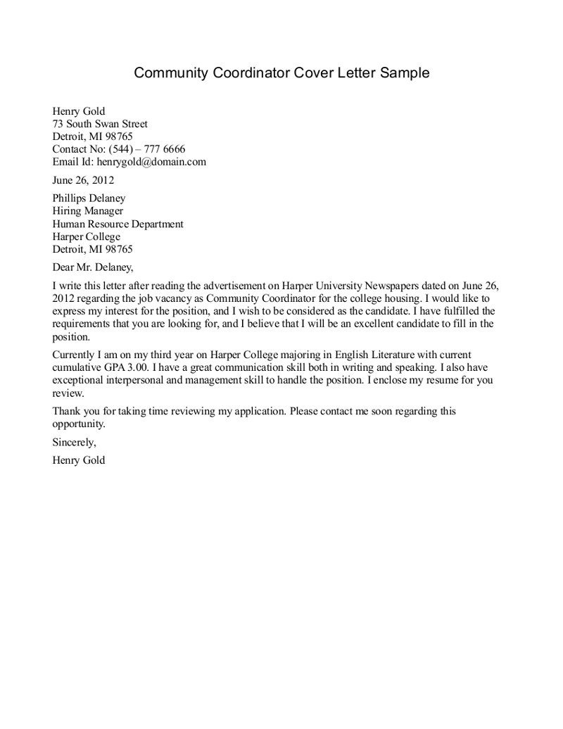 Sample Community Service Letter Best S Of Example Munity Service Letters