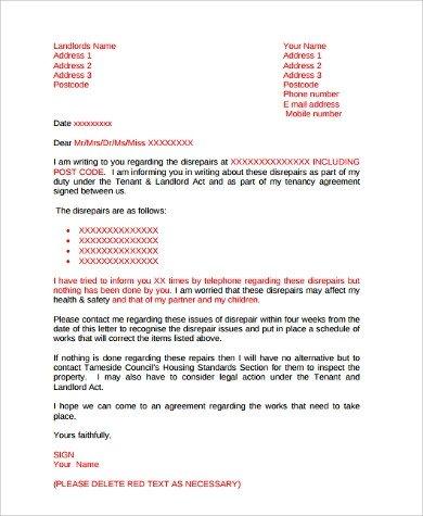 Sample Discrimination Complaint Letter Plaint Letter Example 7 Samples In Word Pdf