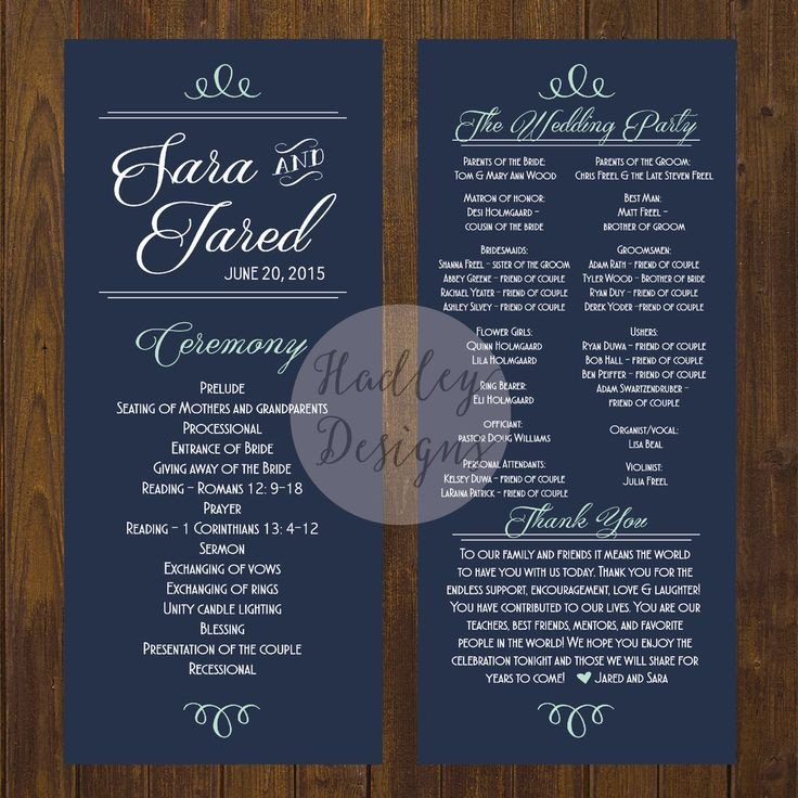 Sample Of Wedding Programme 25 Best Ideas About Wedding Program Samples On Pinterest