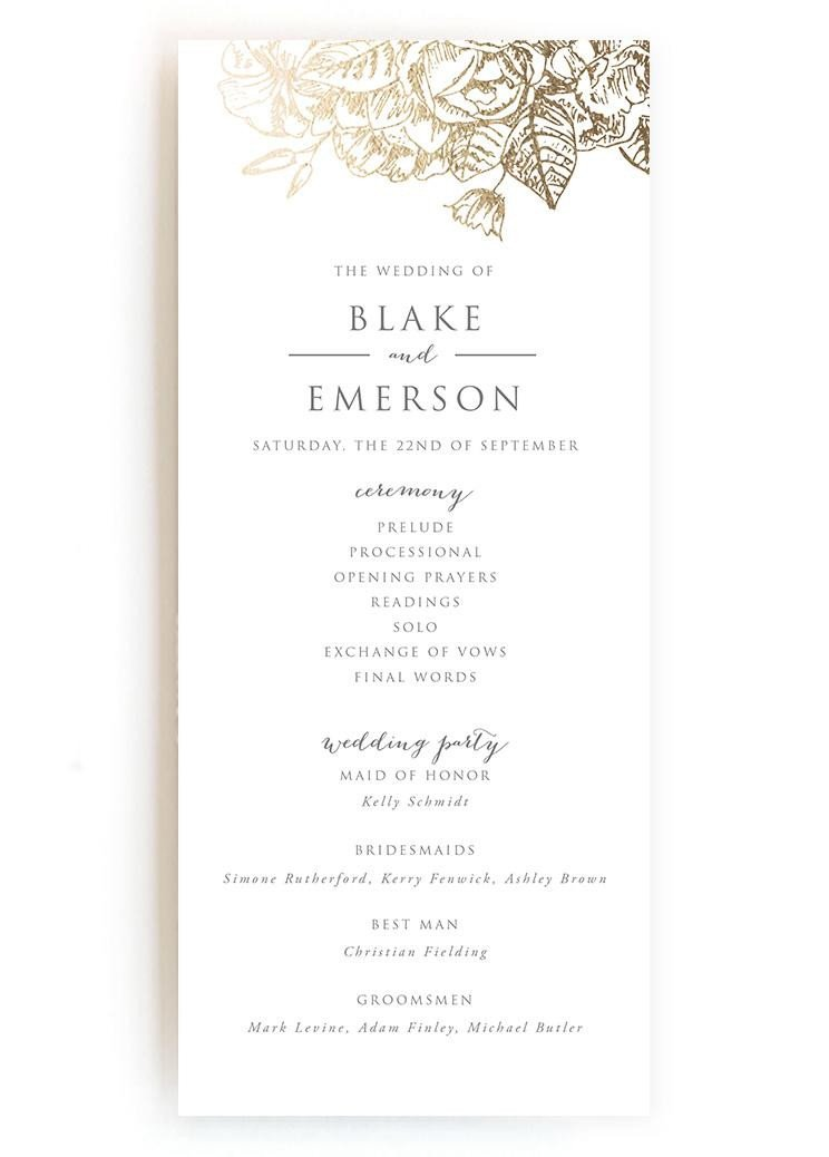 Sample Of Wedding Programme Wedding Programs Wedding Program Wording