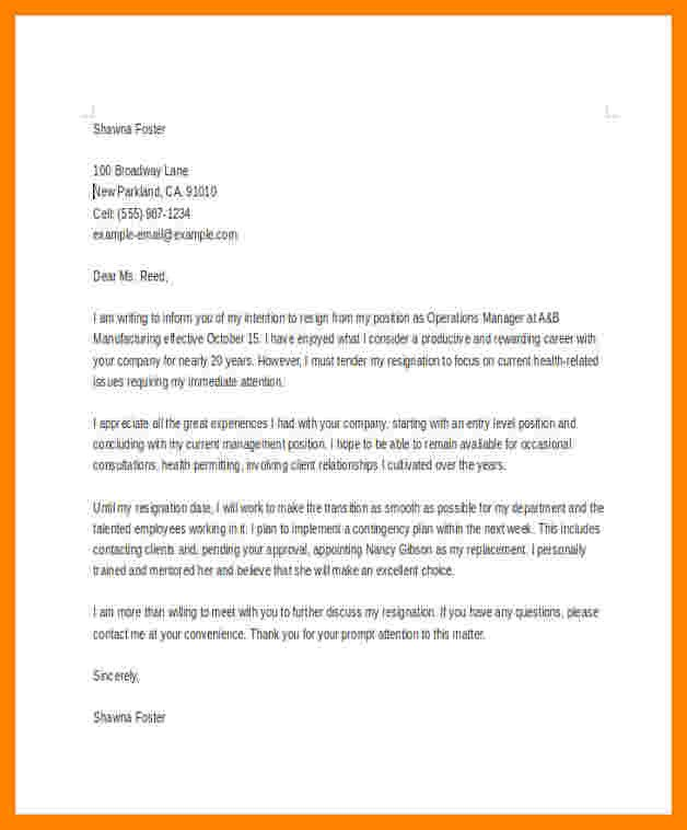 Sample Retirement Resignation Letter 8 Retirement Resignation Letter Sample