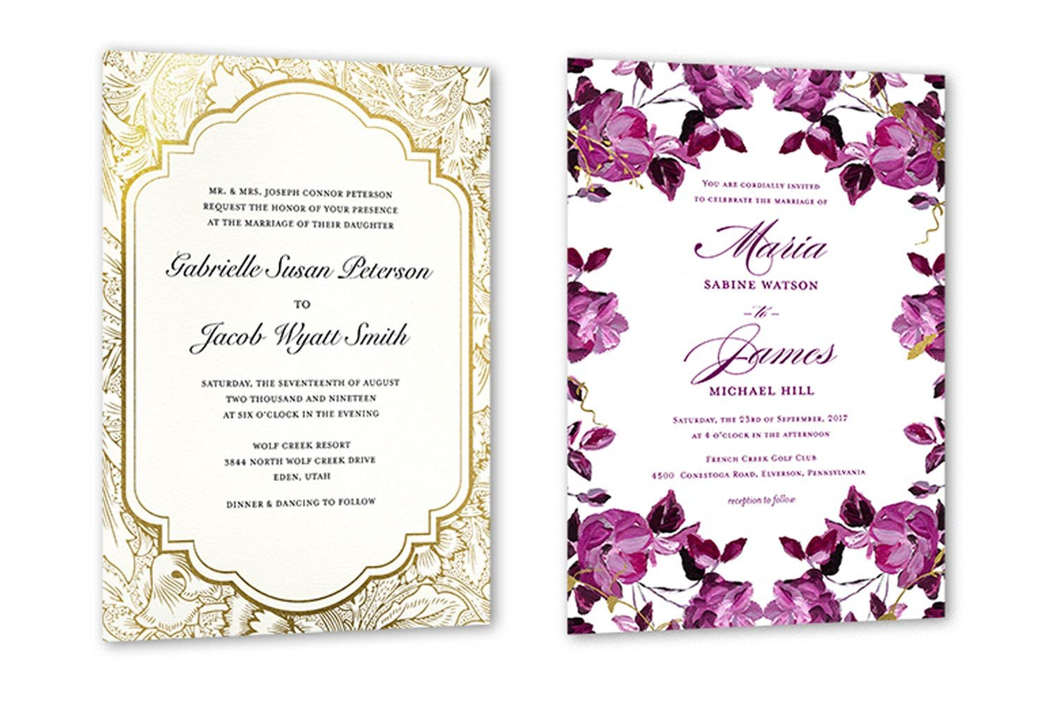 Sample Wedding Invitations Templates 35 Wedding Invitation Wording Examples 2019