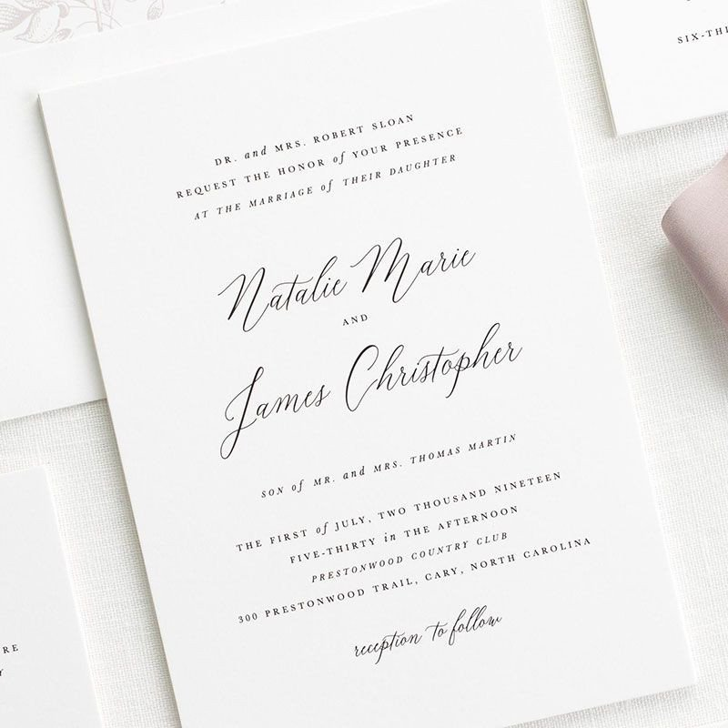 Sample Wedding Invitations Templates Free Wedding Invitation Samples