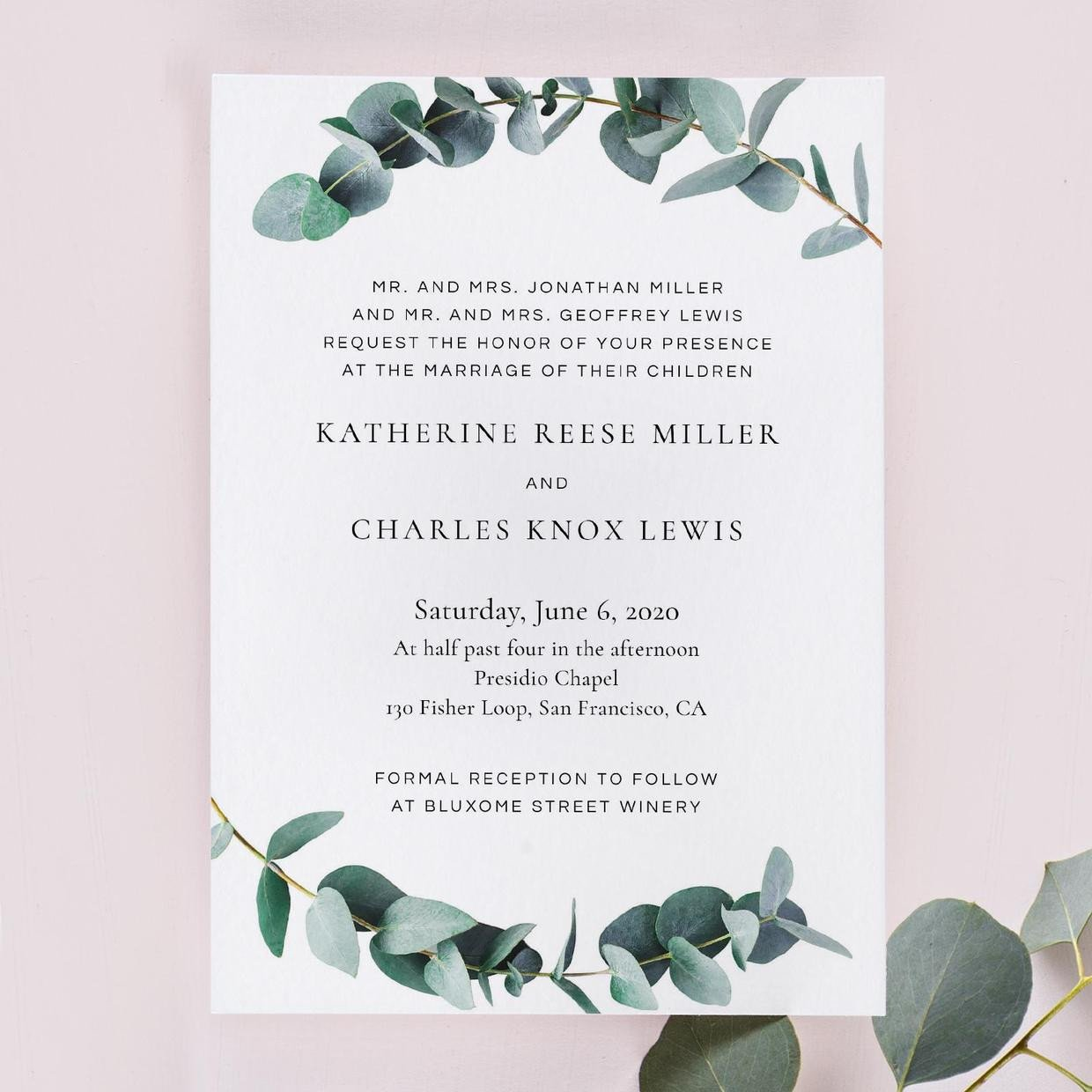 Sample Wedding Invitations Templates Wedding Invitation Wording Examples In Every Style