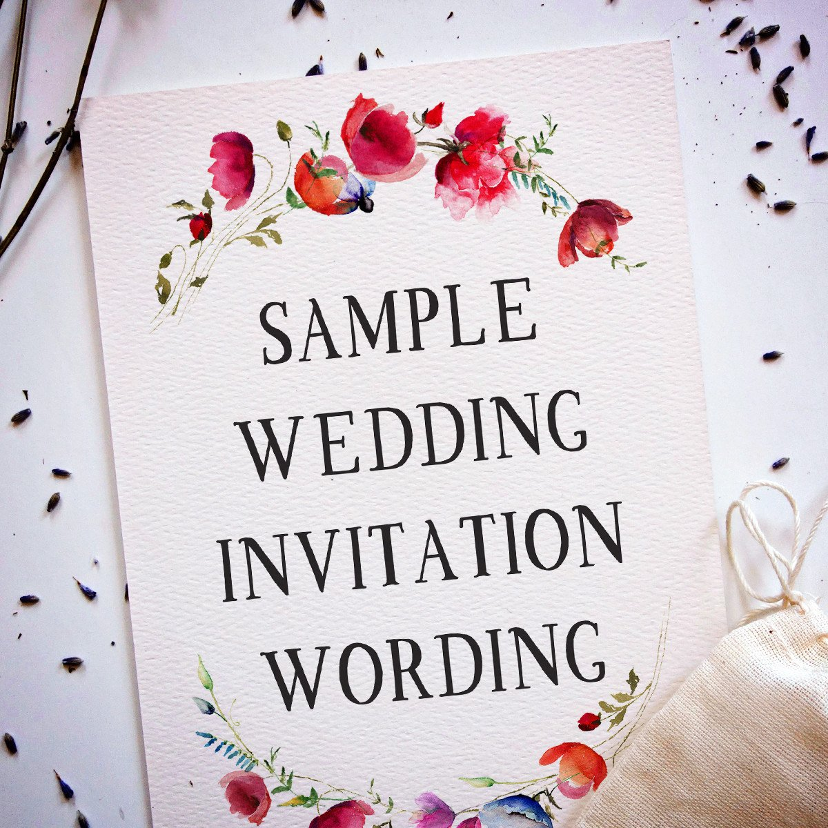 Sample Wedding Invitations Templates Wedding Invitation Wording Samples From Traditional to