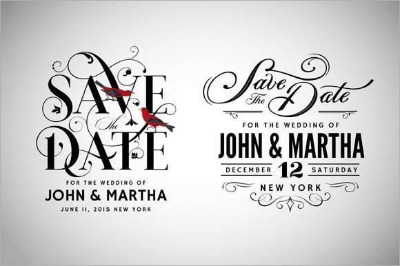 Save the Date Photoshop Templates 11 Sample Save the Dates Psd Vector Eps Ai Word