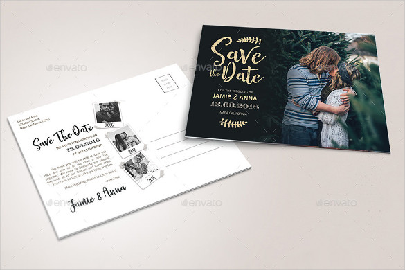 Save the Date Photoshop Templates 22 Save the Date Postcard Templates – Free Sample