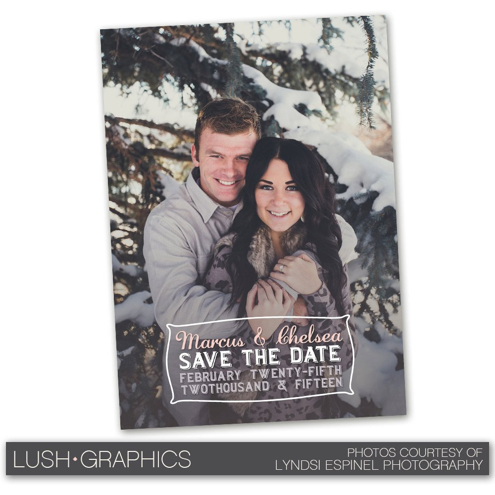 Save the Date Photoshop Templates Psd Shop Template Save the Date Wedding Announcement Card