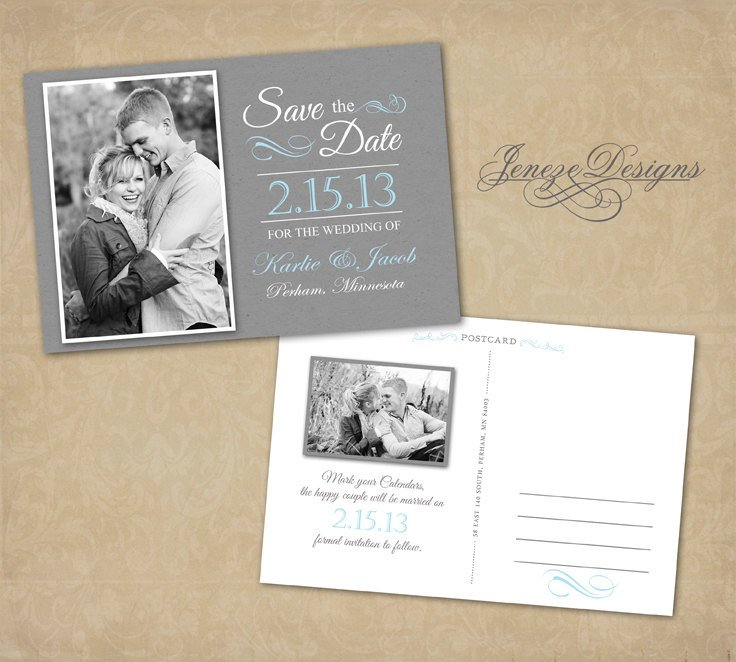 Save the Date Photoshop Templates Save the Date Card Shop Template Item Sd005