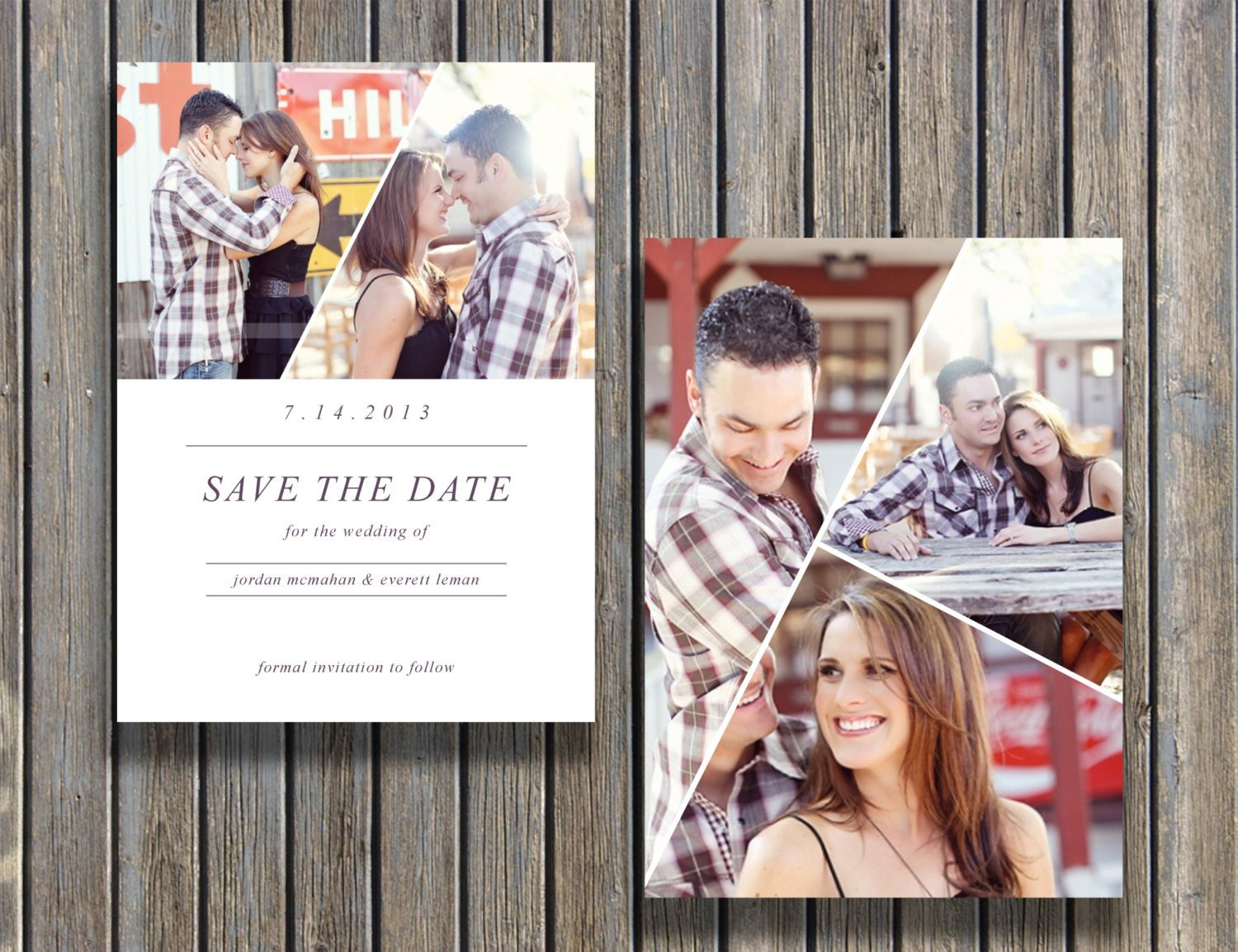 Save the Date Photoshop Templates Save the Date Template for Graphers and Shop Users