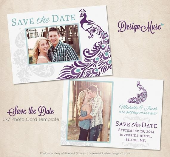 Save the Date Photoshop Templates Unavailable Listing On Etsy