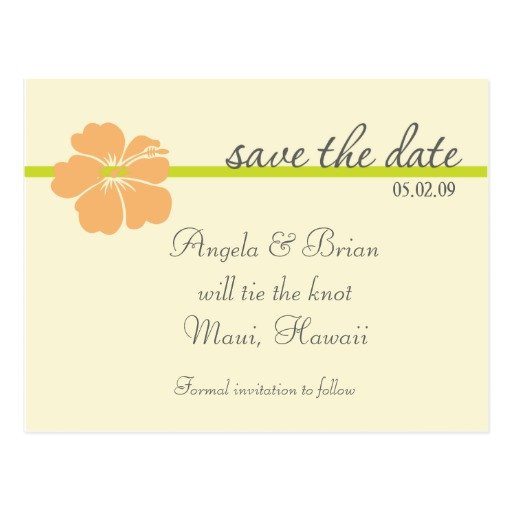 Save the Date Postcard Templates Destination Wedding Save the Date Template Postcard