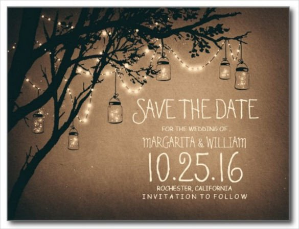 Save the Date Postcard Templates Save the Date Postcard Template – 25 Free Psd Vector Eps