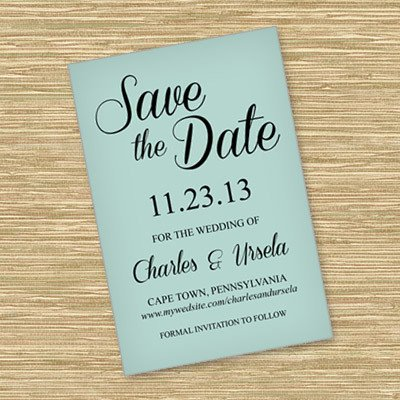 Save the Date Postcard Templates Save the Date Templates