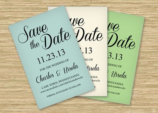 Save the Date Postcard Templates Three Free Microsoft Word Save the Date Templates Perfect