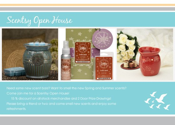 Scentsy Party Invitation Template Scentsy Open House Line Invitations & Cards by Pingg