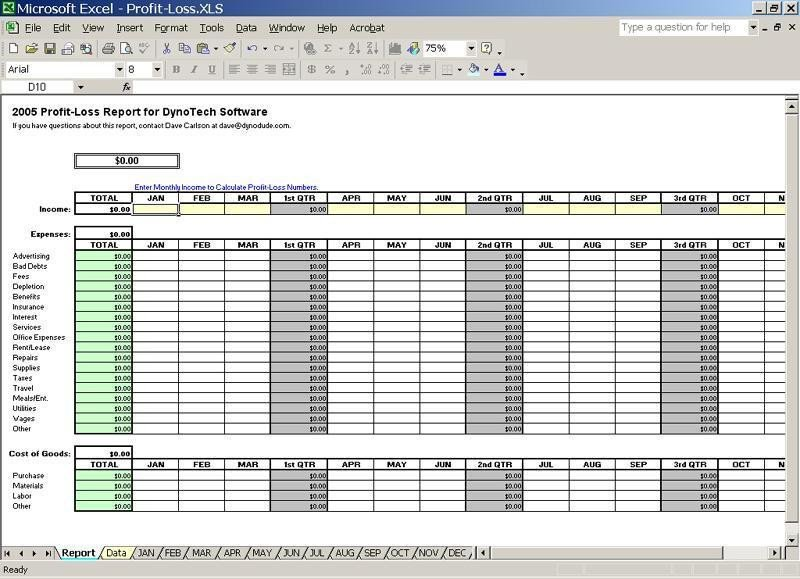 Schedule C Excel Template Track Small Business Expenses