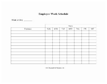 Schedule Of Availability Template 5 Work Availability form Template Oitae