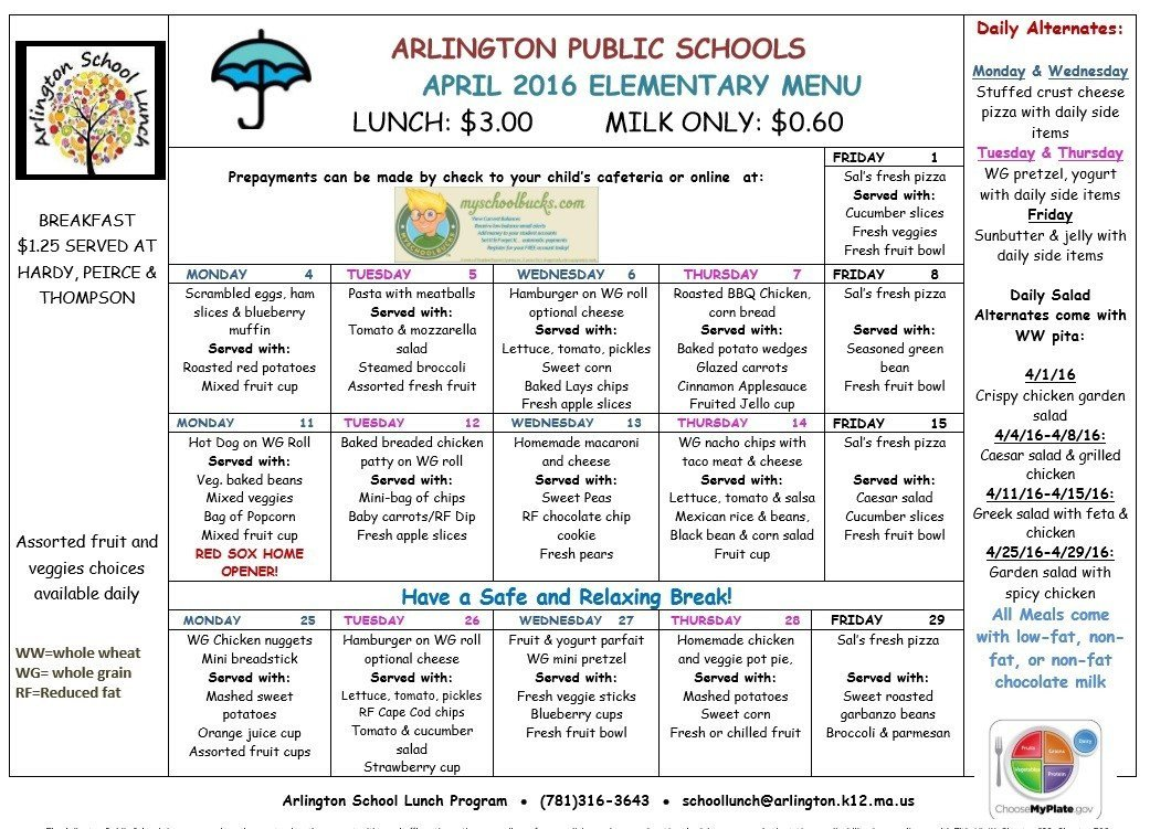 School Lunch Menu Template 8 Free Sample School Menu Templates Printable Samples