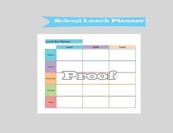 School Lunch Menu Template Lunch Menu Templates 31 Free Word Pdf Psd Eps
