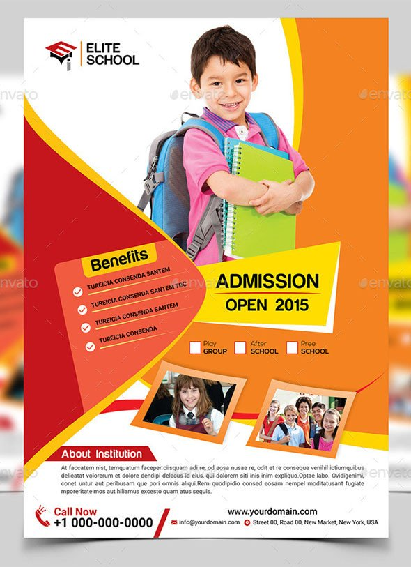 School Picture Day Flyer Template 20 Cool Flyer Templates for Kid & School – Desiznworld