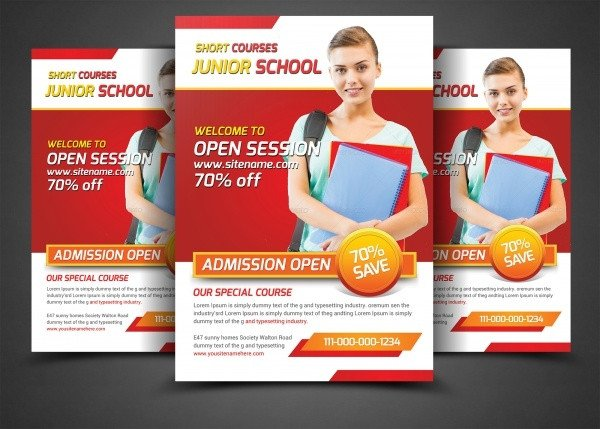 School Picture Day Flyer Template 28 School Flyer Templates Psd Vector Eps Jpg Download