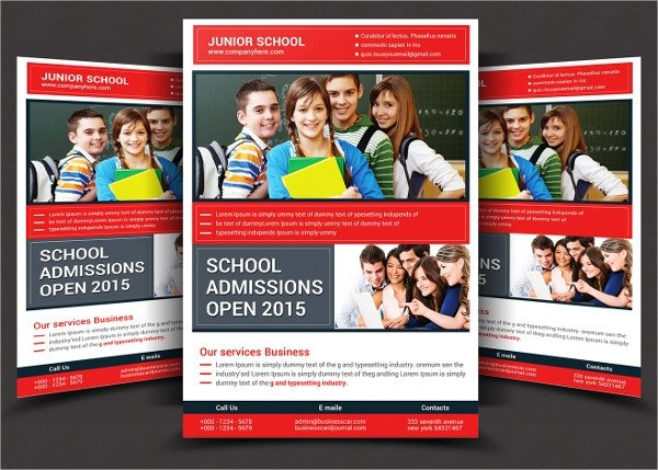 School Picture Day Flyer Template 30 School Flyers Templates Psd Ai Pages Word