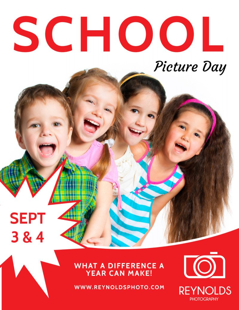 School Picture Day Flyer Template Back to School Picture Day Flyer Template