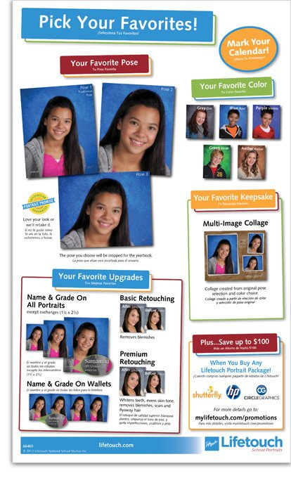 School Picture Day Flyer Template School Picture Day Flyer On Behance