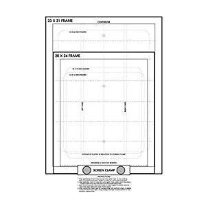 Screen Printing Registration Template Amazon Screen Printing Pre Registration Template