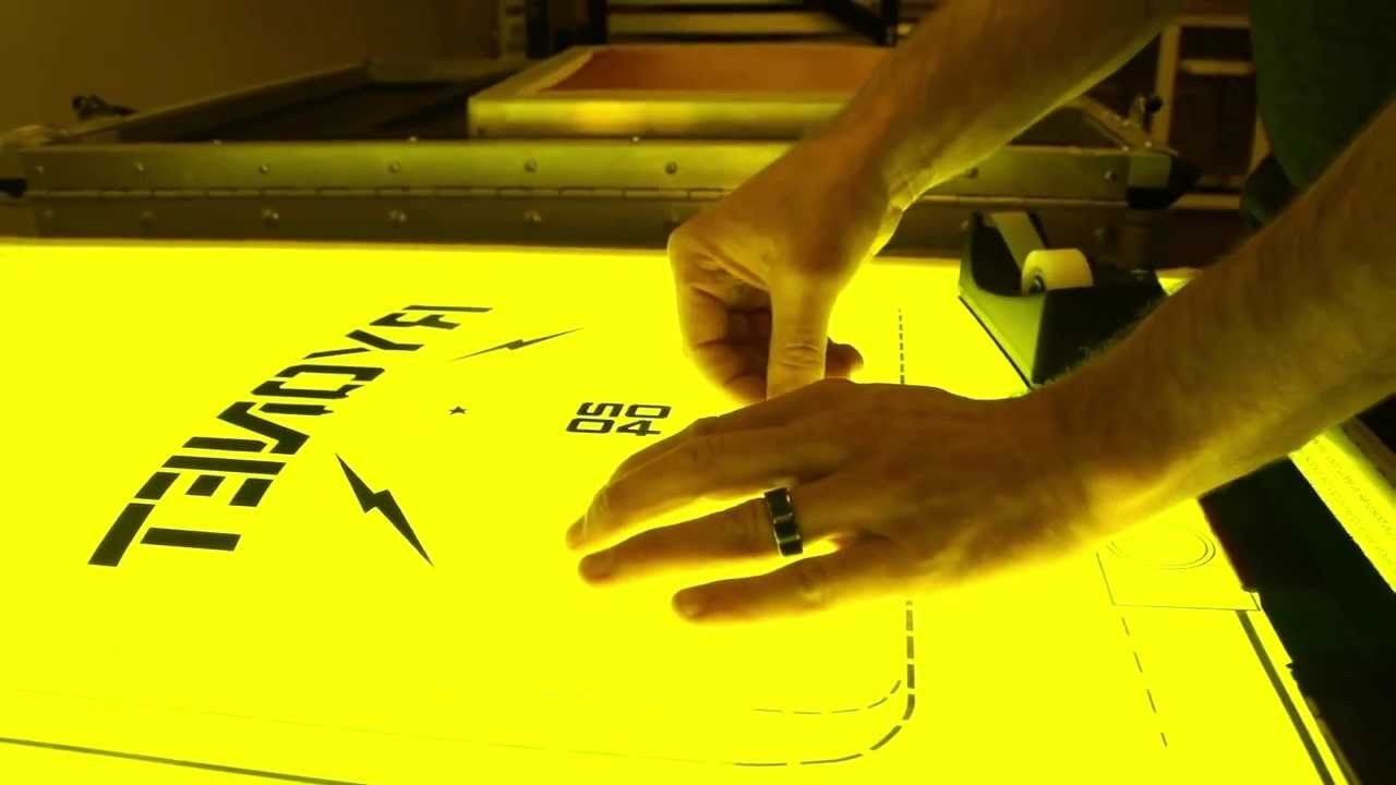 Screen Printing Registration Template Easy and Quick Diy Alignment and Screen Printing
