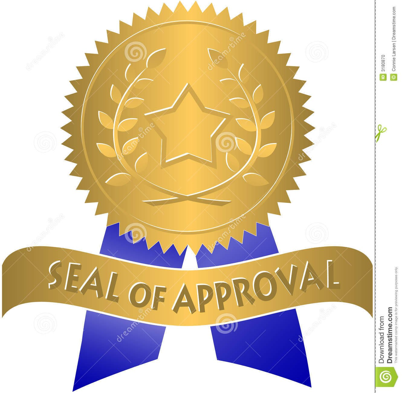 Seal Of Approval Template Seal Approval Clipart Clipart Suggest