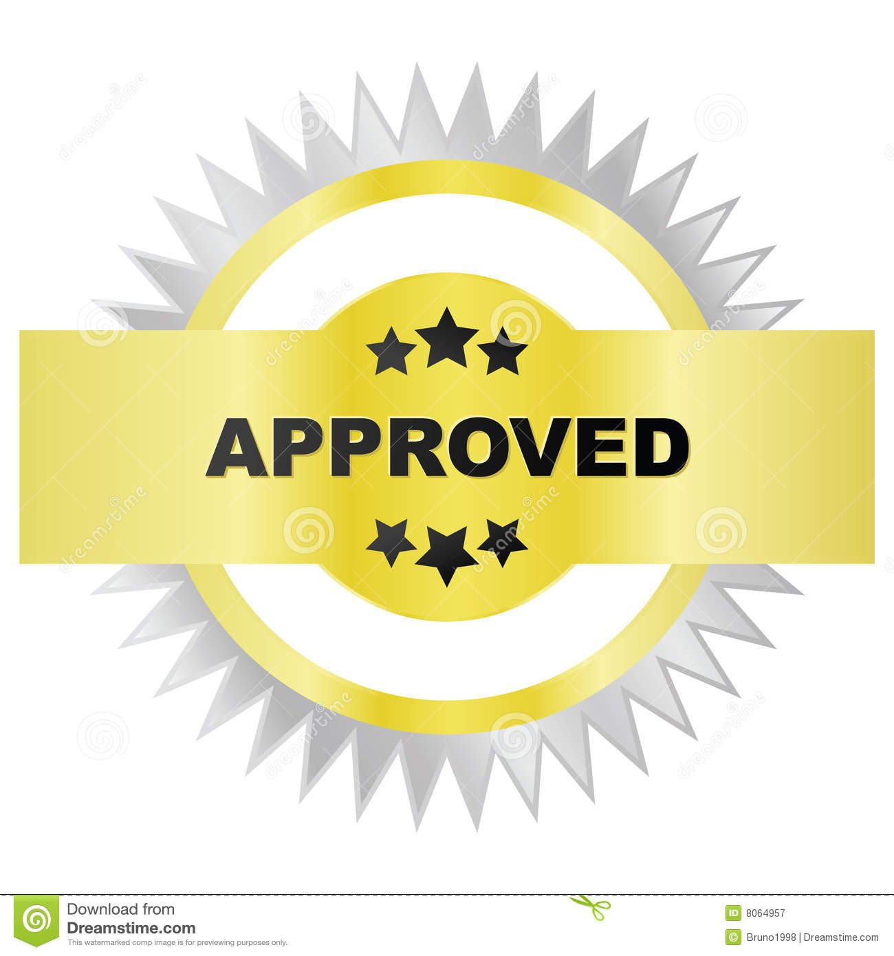 Seal Of Approval Template Seal Approval Royalty Free Stock Graphy Image