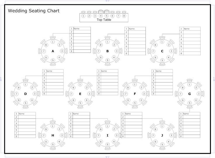 Seating Chart Template Word Best 25 Seating Chart Template Ideas On Pinterest