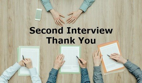 Second Interview Thank You Second Interview Thank You