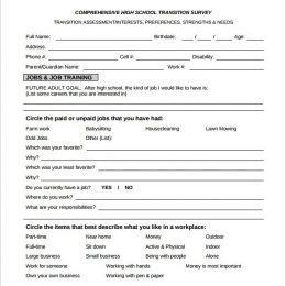 Secret Pal Questionaire Printable Surveys – Example Of social Media Survey 35