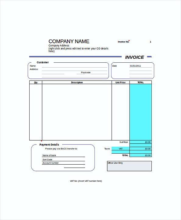 Self Employed Invoice Template Pin by Joko On Invoice Template