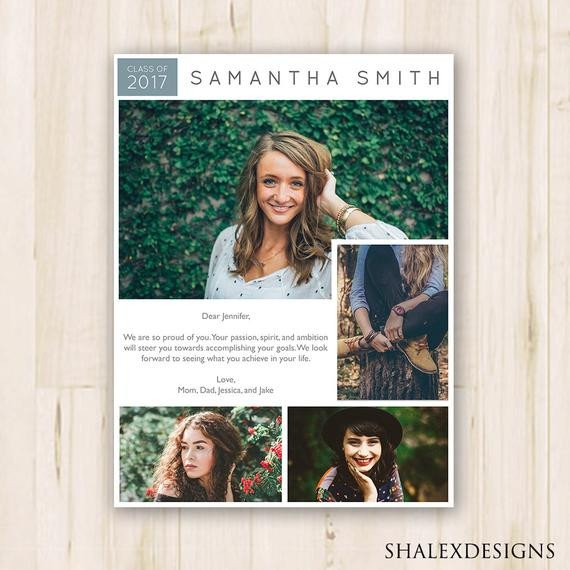 Senior Yearbook Page Template 7 5 X 10 Senior Yearbook Ad Shop Template