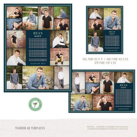 Senior Yearbook Page Template Best 25 Senior Ads Ideas On Pinterest