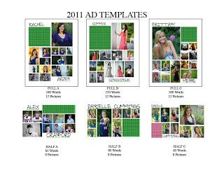 Senior Yearbook Page Template Senior Year Yearbook Third Year Ads Templates