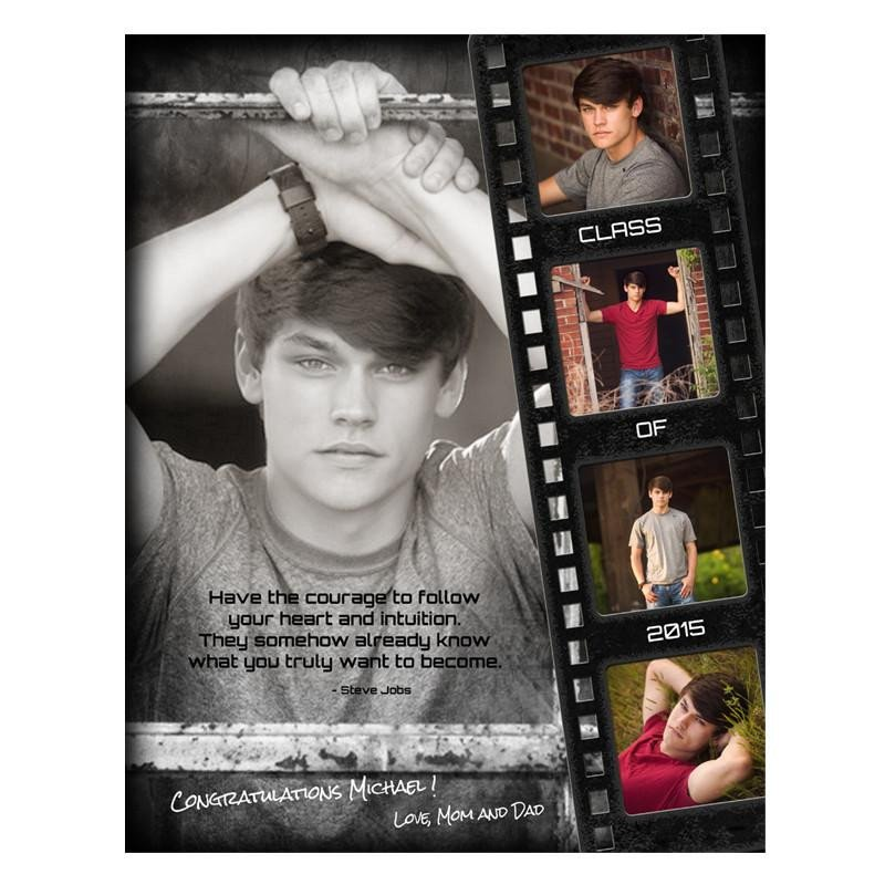 Senior Yearbook Page Template Senior Yearbook Ads for Shop