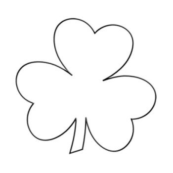 Shamrock Template Free Printable Diy Shamrock T Shirt St Patrick S Day Craft Hip2save