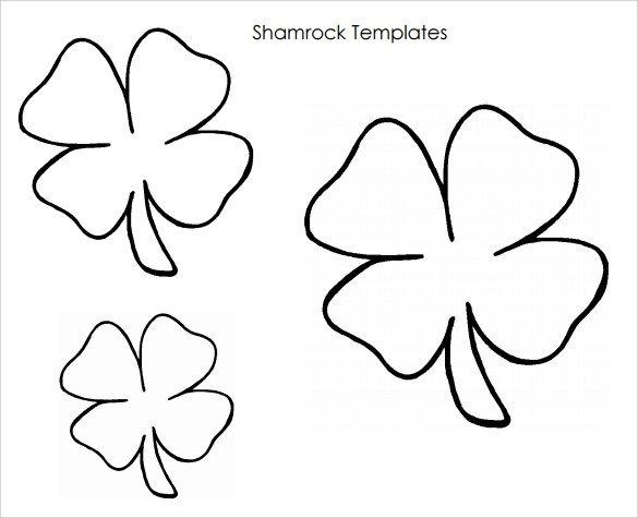 Shamrock Template Free Printable Sample Shamrock 8 Documents In Pdf Word