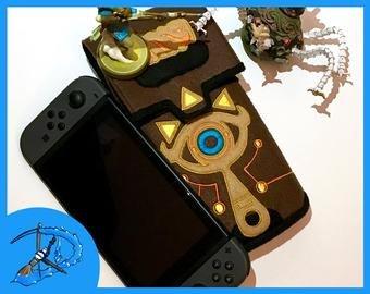 Sheikah Slate Template Nintendo Switch Sheikah Slate Case 3d Print Breath Of the Wild