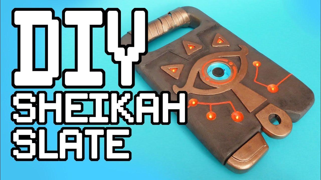 Sheikah Slate Template the Legend Of Zelda Breath the Wild Sheikah Slate Diy