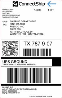 Shipping Label Template Word Ups Shipping Label Template Word