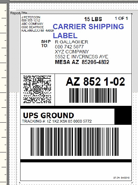 Shipping Label Templates Word Ups Shipping Label Template Word