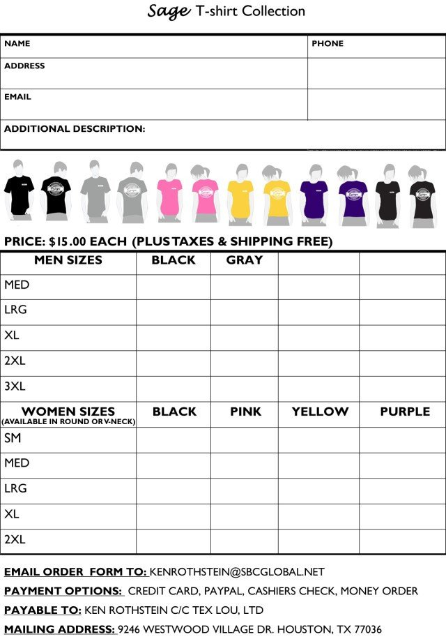 Shirt order form Templates Printable T Shirt order forms Templates Excel Template