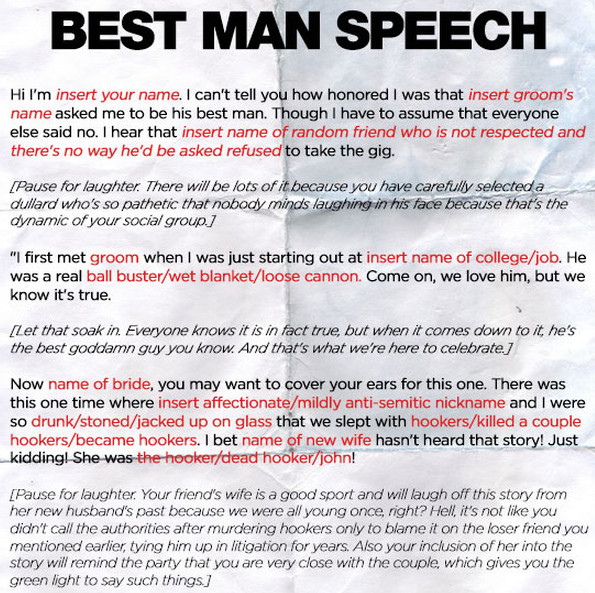 Short Best Man Speech Template Funny Best Man Speech Quotes Quotesgram
